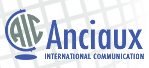 AIC Logo with globe